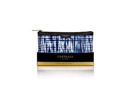 Small Castelli Pouch Shibori
