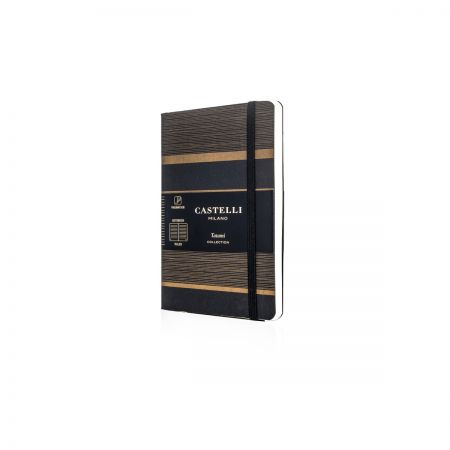 Tatami Pocket Ruled Notebook - Dark Espresso