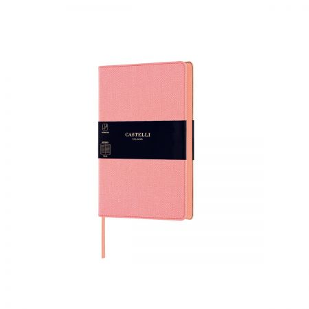 NEW Harris Pocket Ruled Notebook - Petal Rose