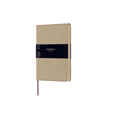 NEW Harris Pocket Ruled Notebook - Desert Sand