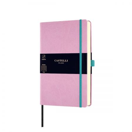 NEW Aquarela Medium Ruled Notebook - Mallow
