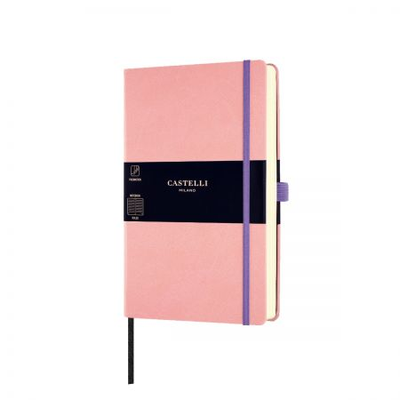 NEW Aquarela Medium Ruled Notebook - Cipria