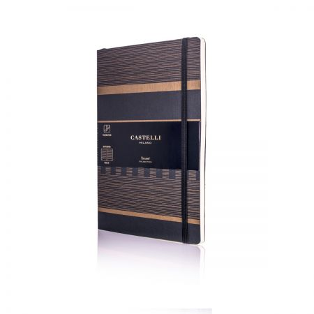 Tatami Medium Ruled Notebook - Dark Espresso