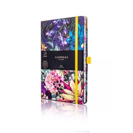 Eden Medium Ruled Notebook - Cockatiel