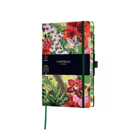 NEW Eden Medium Ruled Notebook - Leopard