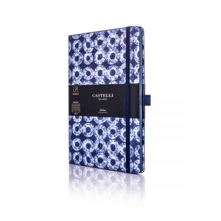 Shibori Medium Ruled Notebook - Rings