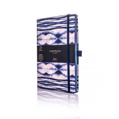 Shibori Medium Ruled Notebook - Mist