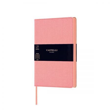 NEW Harris Medium Ruled Notebook - Petal Rose