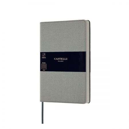 NEW Harris Medium Notebook - Oyster Grey