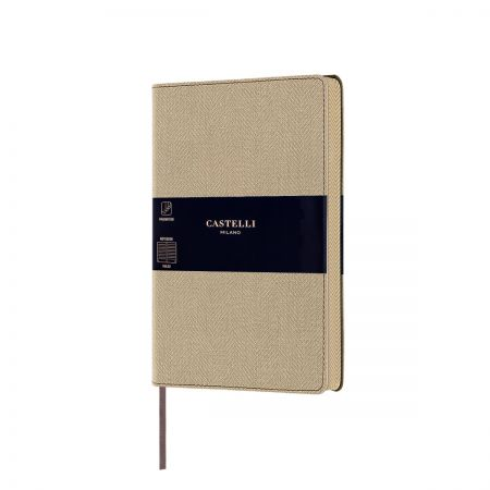 NEW Harris Medium Notebook - Desert Sand