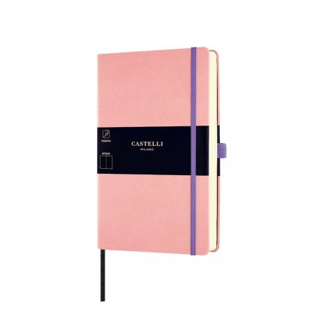 NEW Aquarela Medium Plain Notebook - Cipria