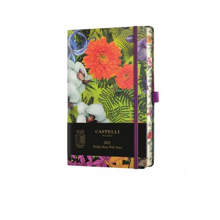 Eden 2021 Medium Weekly Diary  - Orchid