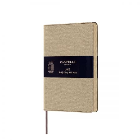 NEW Harris Medium 2021 Diary - Desert Sand