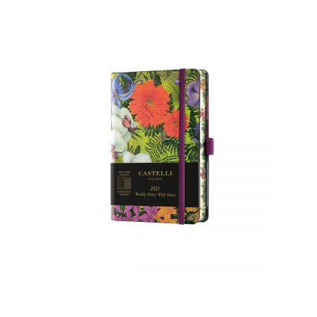 Eden 2021 Pocket Weekly Diary - Orchid