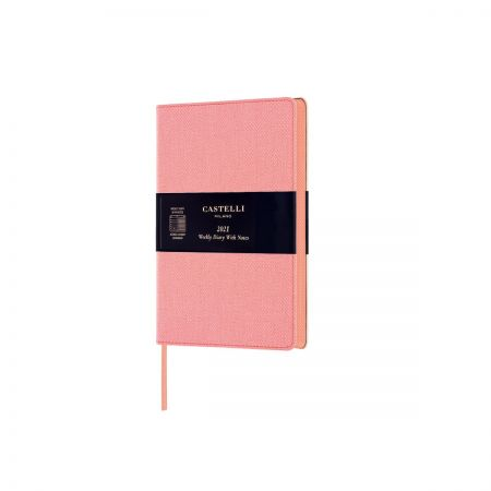 NEW Harris 2021 Pocket Diary - Petal Rose