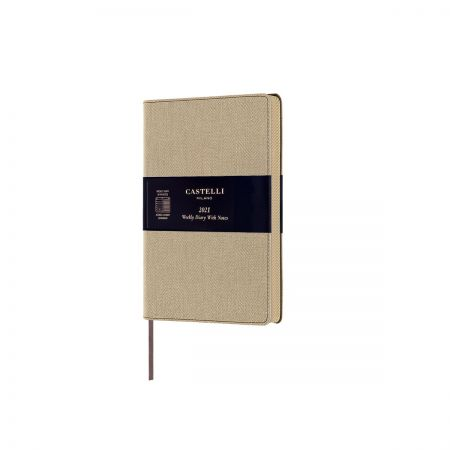 NEW Harris 2021 Pocket Diary - Desert Sand