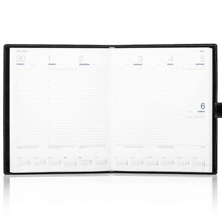 Arles Refill 2021 Quarto Weekly Diary Insert