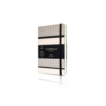 Tatami Pocket Ruled Notebook - White Milk