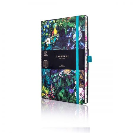 Eden Medium Ruled Notebook - Lily
