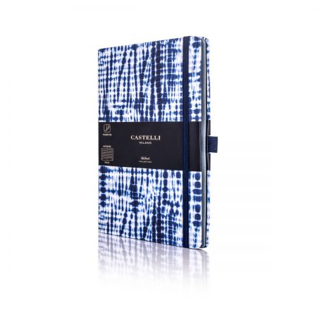 Shibori Medium Notebook - Jute