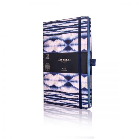 Shibori Medium Ruled Notebook - Mist