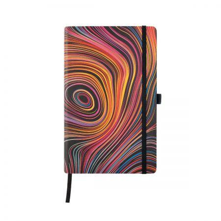 Iride Medium Ruled Notebook - Curves