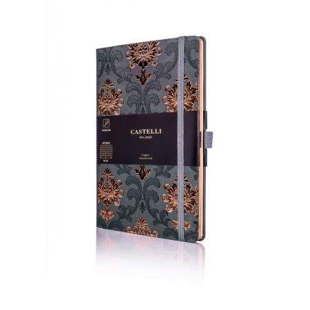 Baroque Copper Medium Ruled Notebook