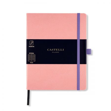 Aquarela Large Ruled Notebook - Cipria - Coming Soon