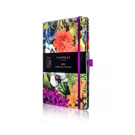 Eden 2020 Medium Diary  - Orchid