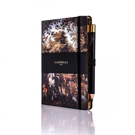 Vintage Paradise Ivory Medium Notebook - Equino